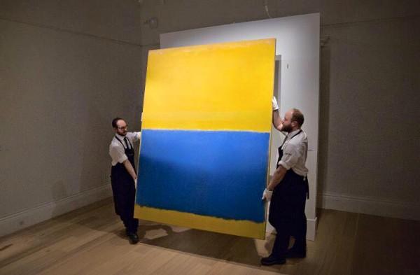 Полотно Марка Ротко похоже на украинский флаг лишь визуально - это картина не об Украине.