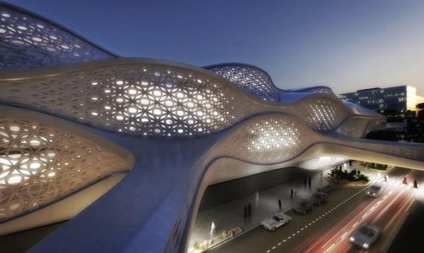 Заха Хадид построит станцию метро в Эль-Рияде, столице Саудовской Аравии