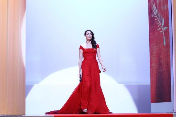 Беренис Бежо, ведущая 65-го Каннского фестиваля, исполнительница главной роли в фильме Артист