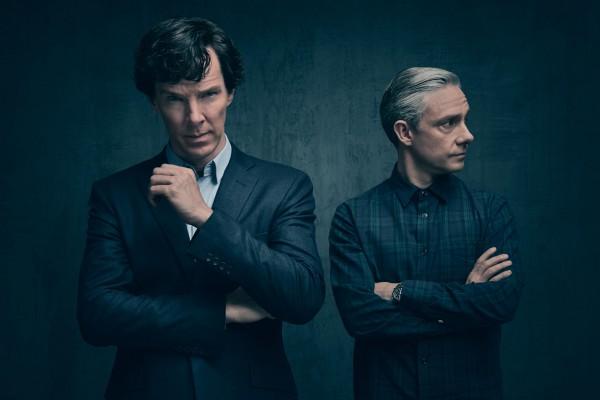 Сериал Шерлок выйдет в следующем десятилетии