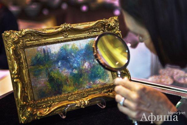 Краденую картину Огюста Ренуара пытались продать за $100 тыс.