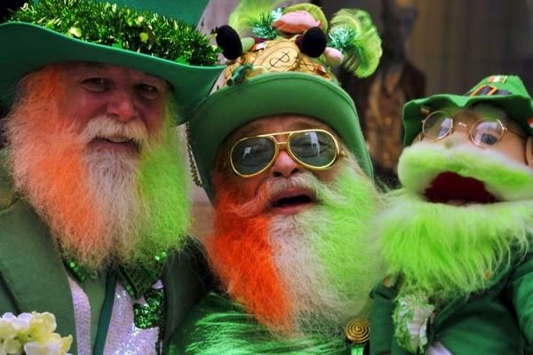 День святого Патрика отмечается ежегодно 17 марта.
