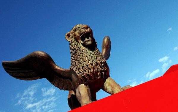Крылатый лев, символ Венецианского кинофестиваля