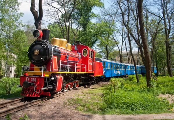 30 апреля в Киеве открывается детская железная дорога