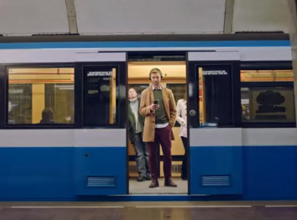 Реклама в киевском метро