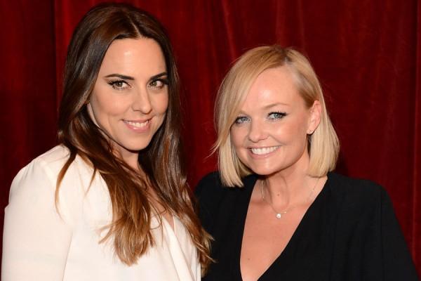Бывшие участницы Spice Girls Мелани Си и Эмма Бантон