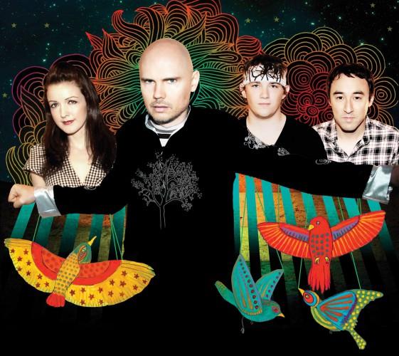 Smashing Pumpkins перепели Space Oddity на одном из фестивалей