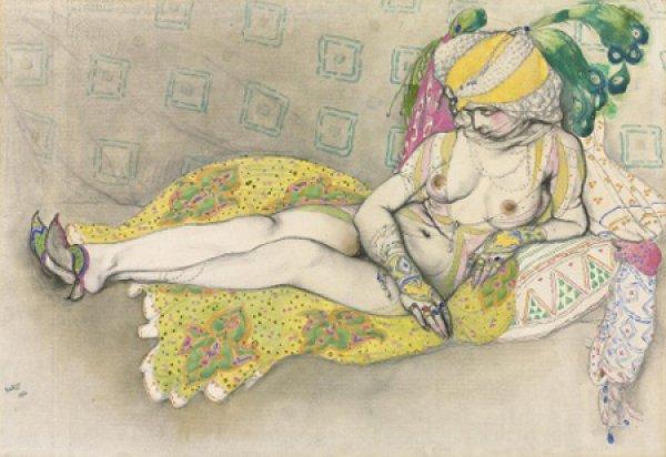 Желтая султанша Леона Бакста