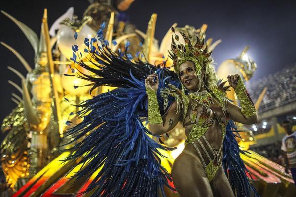 В Рио прошел ежегодный карнавал
