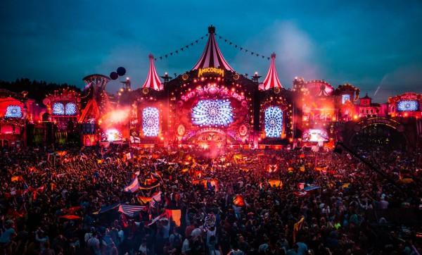 Tomorrowland ежегодно проходит в Бельгии