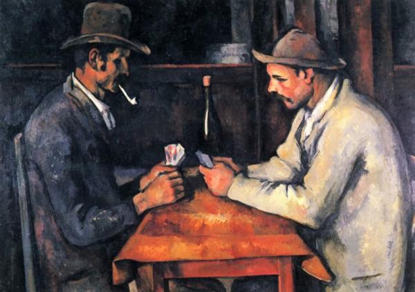 Поль Сезанн Игроки в карты (1893 г.)