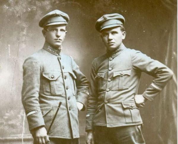 Снимок офицеров УПА.