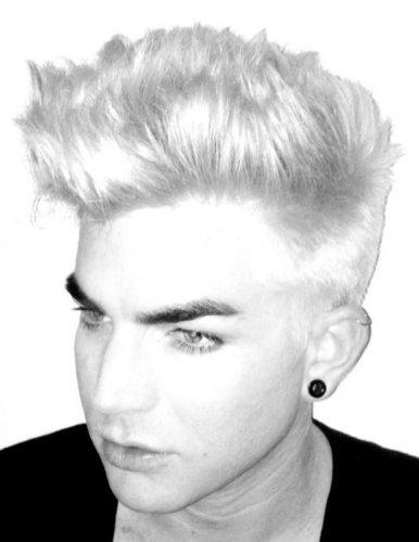 Адам Ламберт теперь блондин