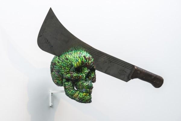 Экспонат выставки бельгийского художника Яна Фабра.