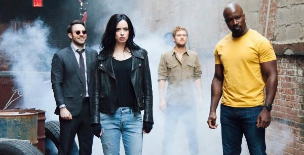 Защитники - новый сериал студии Marvel и Netflix.
