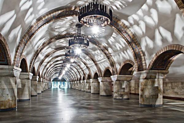 Станция метро Золотые ворота была открыта в 1989 году
