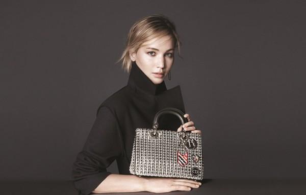 Дженнифер Лоуренс в рекламе Be Dior 2015