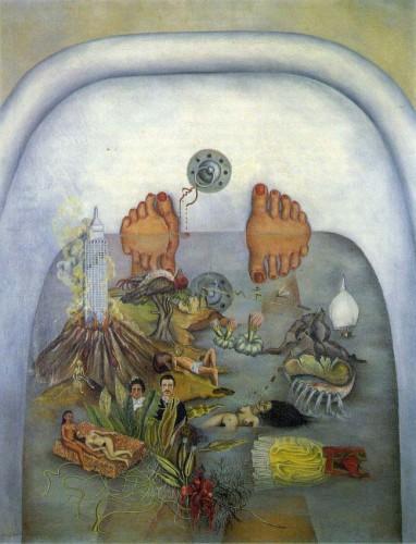 Фрида Кало, Что дала мне вода/Lo Que el Agua Me Dio (1938)