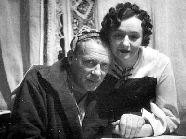 Михаил Булгаков и его муза, третья жена - Елена Сергеевна