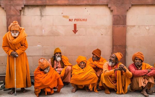 Сью О'Коннелл, Великобритания. Специальный приз Человечество. Паломники, Северная Индия.