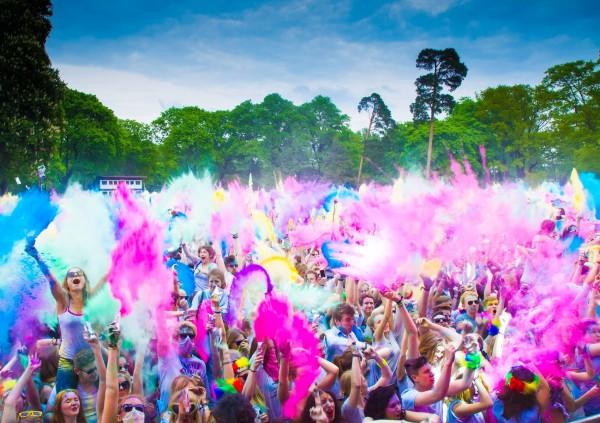 25 июня в Киеве пройдет фестиваль красок Холи