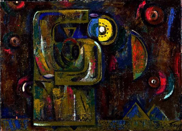 Бауэр В.А. Горняк в ночи (1976 г.)