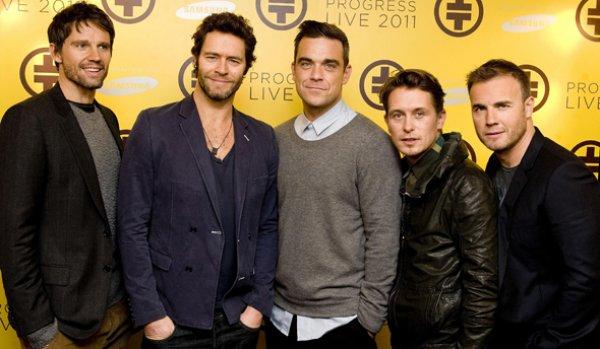 Участники Take That собираются вернуться к совместному творчеству