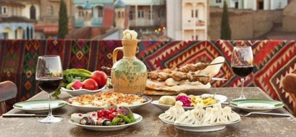 На фестивале Уличной еды будут представлены блюда из Грузии.