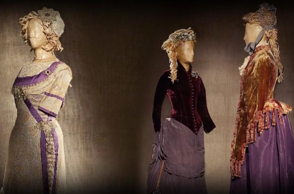Музей истории моды - выставка старинных костюмов в киевском Планетарии