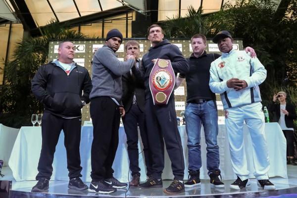 Бой Усика за защиту титула состоится 12 декабря во Дворце спорта