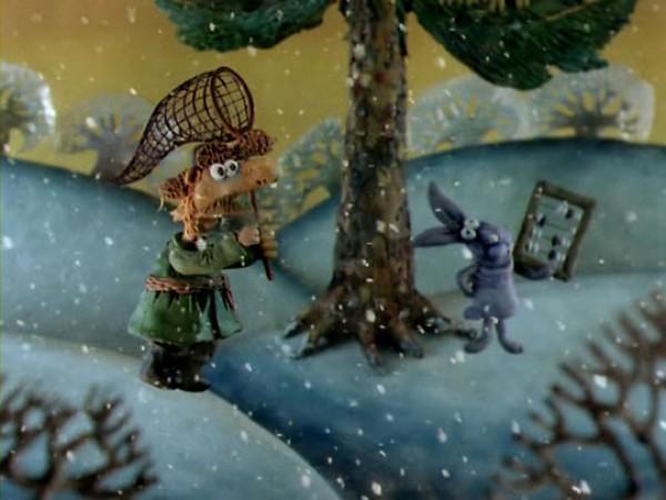 Кадр из мультфильма Падал прошлогодний снег