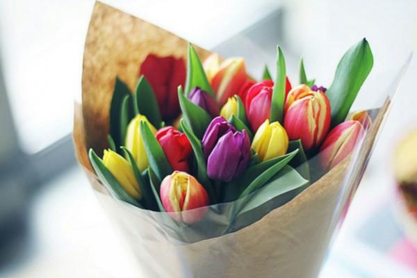 Букет первых тюльпанов или любых других цветов. От 350 грн.