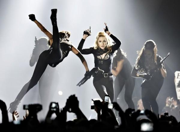 Самые успешные гастроли в 2012 г. были у Мадонны, которая заработала $228 млн за 72 концерта
