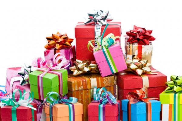 подарки: