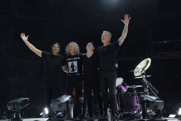 Metallica удостоена престижной премии