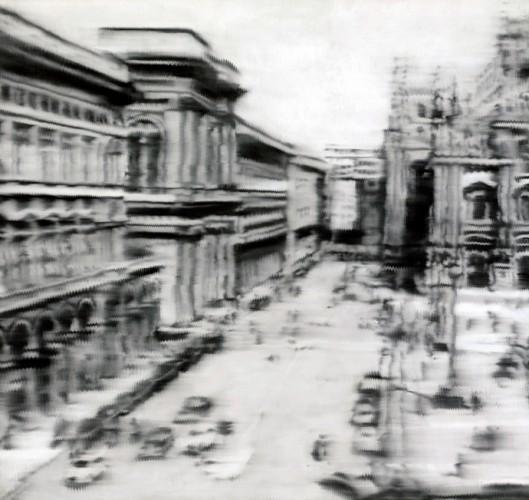 Герхард Рихтер, Площадь перед Миланским собором (1968)