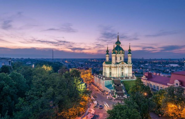 Андреевский спуск - визитка Киева
