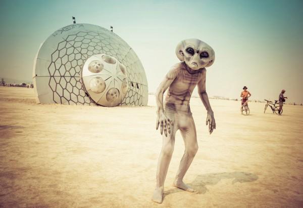 Burning Man собирает десятки тысяч участников со всего мира