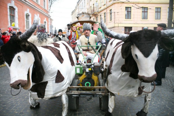 Праздник Маланки на Буковине