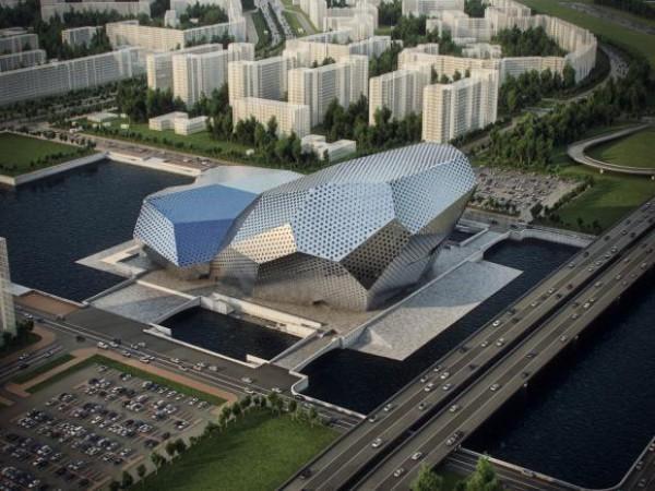 В Киеве построят концерт-холл на Днепре