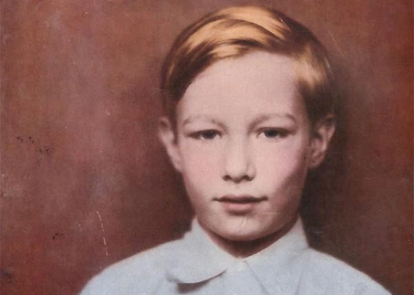 Андрей Вархола в детстве
