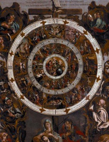 Времена страданий Христовых. XVIII век