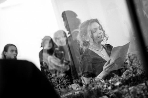 Прозаик Оксана Форостина. Фотографии предоставлены PinchukArtCentre © 2013. Фотограф: Сергей Ильин.