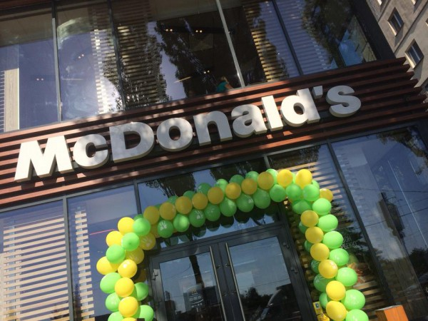 Новый Макдональдс на Борщаговке работает с 6:00 до 22:00