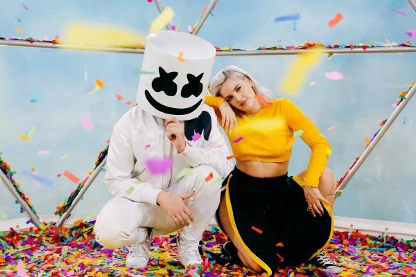 Marshmello & Anne-Marie попали в список с песней friends