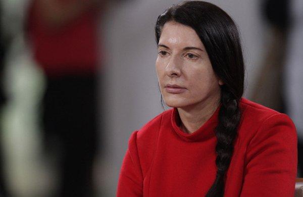 Марина Абрамович, художник