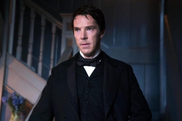 Бенедикт Камбербэтч в образе Томаса Эдисона в фильме Война токов.