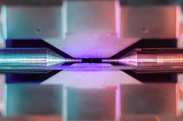 Снимок атома сделан на простую камеру