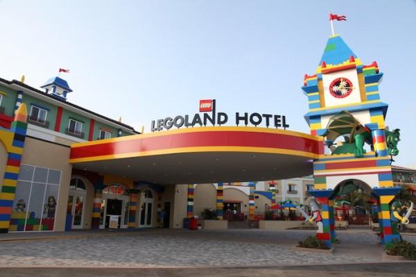 Legoland Hotel: в Калифорнии открылся отель из кубиков Lego