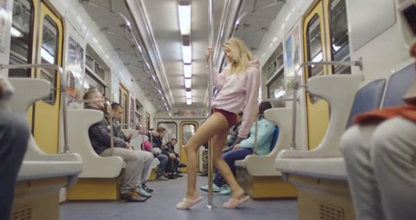 Музыкант из Франции Busy P снял в киевском метро клип на песню Genie
